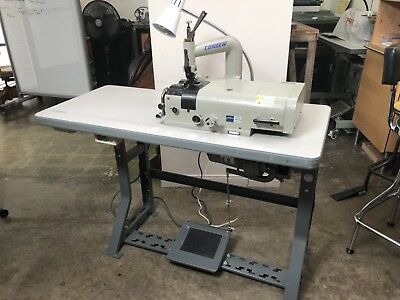 Consew DCS-S4 Industrial Leather Skiving Skiver Machine complete excellent