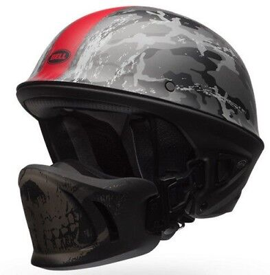 BELL ROGUE - Ghost Recon Camuflaje Casco Medio Abierto | harley davidson