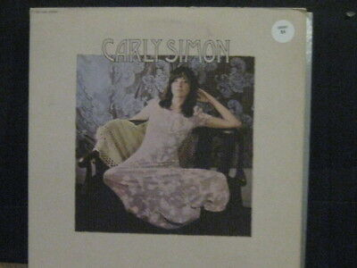 Carly Simon - Self Titled - 1971   - Vinyl Lp - Elektra I Small Fold Out Poster