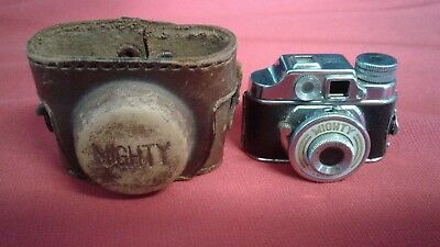 Vintage Mighty Toko Subminiature Spy Camera Occupied Japan With Case FREE SHIP