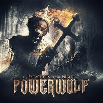Preachers of the Night POWERWOLF CD ( FREE SHIPPING)