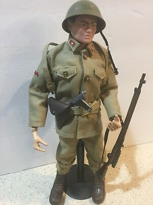 Vintage 1964 GI JOE Japanese Imperial Soldier With Accesories by Hasbro 11720b3ef73b