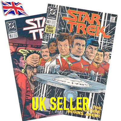 Star Trek The Original Series TOS DC Comics Vol 2 1989-1996 Bagged and Boarded