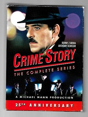 Crime Story: The Complete Series (DVD, 9-Disc Set)~GOOD CONDITION + FREE SHIPPIN