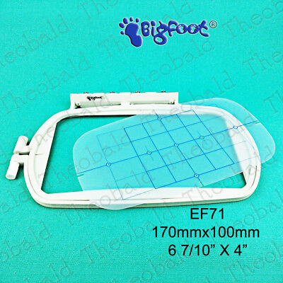 170 x100mm EMBROIDERY HOOP/FRAME FIT BROTHER M280D M230D PE400 PE540D PE300S