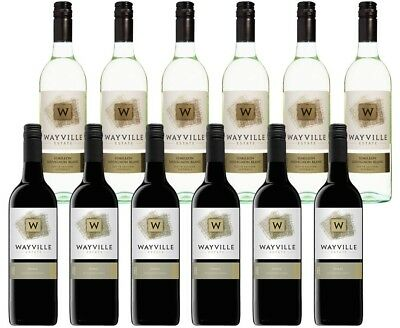 Wayville Estate Semillon Sauvignon Blanc & Shiraz (12 x 750mL) Mixed Pack