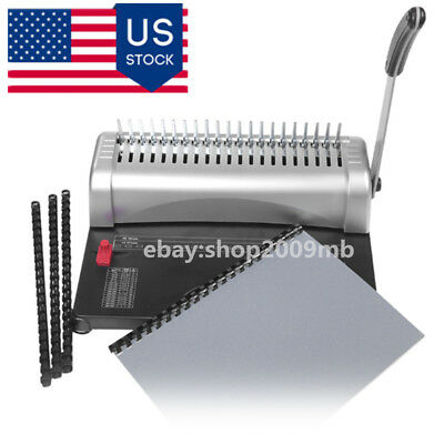 A4 Paper Binding Machine Puncher Binder 21 Holes 12 Sheets Punching 450 Sheets
