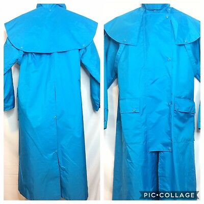 Cowboy Duster Small Raincoat Ranch Riding Rodeo Barn Chore Coat Costume Theater