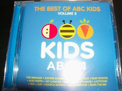 The Best Of ABC Kids Vol 3 (Ft Wiggles Justine Clarke Play School) CD – New