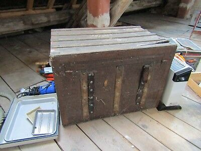 Antique chest from England; been round Cape Horn twice!!