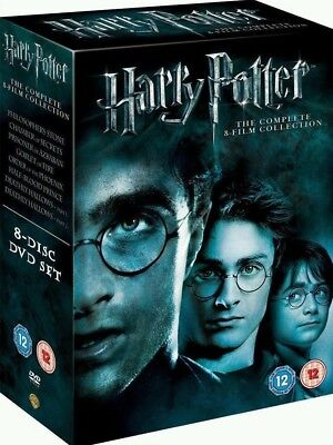 New Sealed  Complete Collection Harry Potter 1-8 Movie DVD  Set bargain lowest p