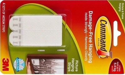 Command Medium Picture Hanging Strips Pk 4No more nail holes, cracked plaster or