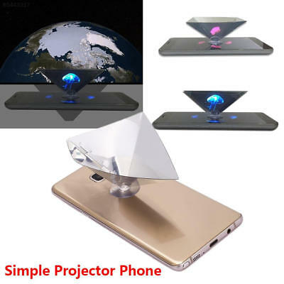 CC59 Hologram Film 3D Projection Film Transparent for 3.5-6inch Phone Cinema