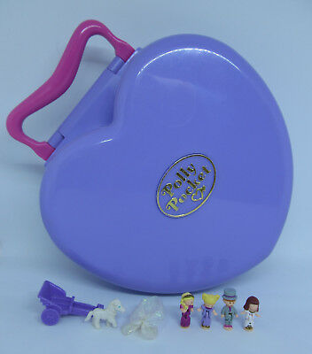 MUSICAL & NEAR COMPLETE! 1994 Vintage Polly Pocket - Wonderful Wedding Party