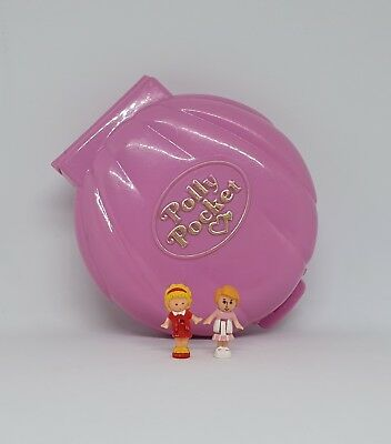 COMPLETE! 1989 Vintage Polly Pocket - Polly's Cafe - Bluebird Toys