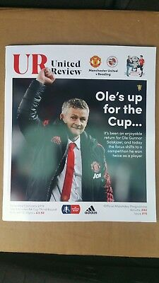 Manchester United v Reading FA CUP