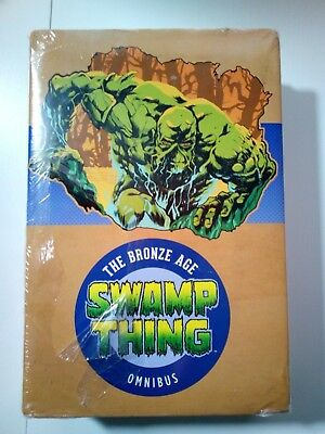 Swamp Thing The Bronze Age Omnibus US COLLECTION COMPLÈTE NEUF RARE EN FRANCE