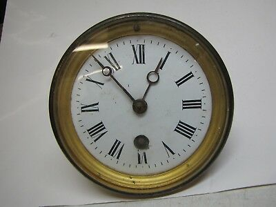 A French Timepiece Clock Movement