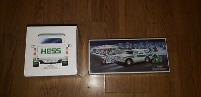 2004 Hess Trucks Sport Utility Vehicle and Motorcycles (2) NEW in Box