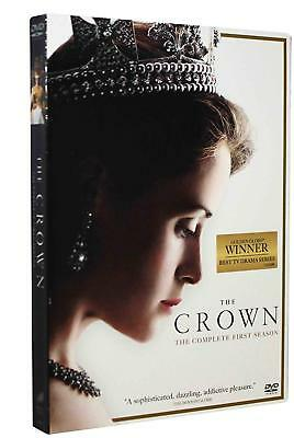 The Crown: Season One (DVD, 2017, 4-Disc Set) *READ Description*