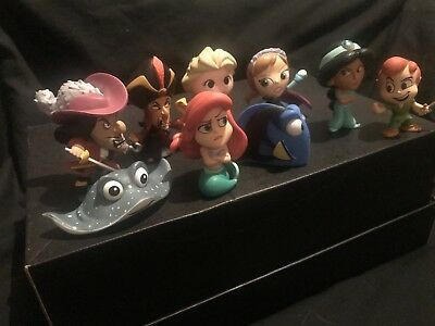 Disney Mystery Mini Figures Mix Lot Bulk - Ariel Peter Pan Dory Frozen  Aladin 052c5293b