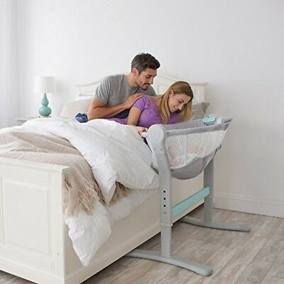 SwaddleMe By Your Bed Sleeper Adjustable Baby Infant Newborn Craddle Crib