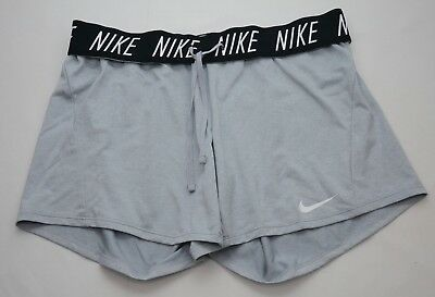 Nike Dri-Fit Training Shorts Grey Women's Size XS-XL New with Tags 918301 012