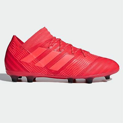 the best attitude 7c7dc 5a615 adidas Nemeziz 17.2 FG Firm Ground Football Boots Mens Red Soccer Shoes  Cleats