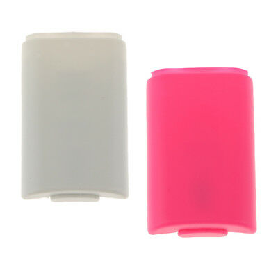Battery Door for Microsoft Xbox 360 S Remote Cell Cover Holder Lid Part 2Pcs