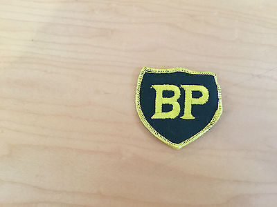bp  vintage patch, new old stock,  ,1960's INCLUDES  border