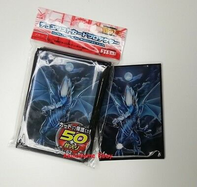 OFFRE SPECIALE / Yu-Gi-Oh! Sleeve Protège-cartes Blue Eyes White, made in japan