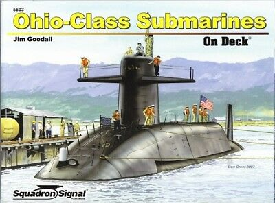 Squadron Signal 5603 Ohio-Class Submarines on Deck ( Marine Navy Kalter Krieg )