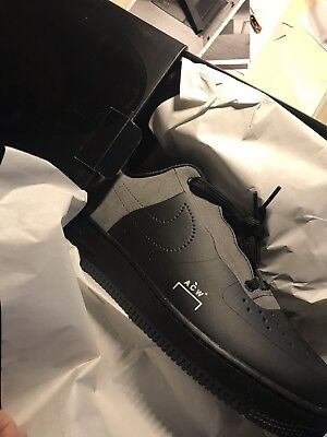 huge selection of a83a5 f987a NIKE X ACW* A Cold Wall Air Force 1 Low Black UK 7.5 Brand New