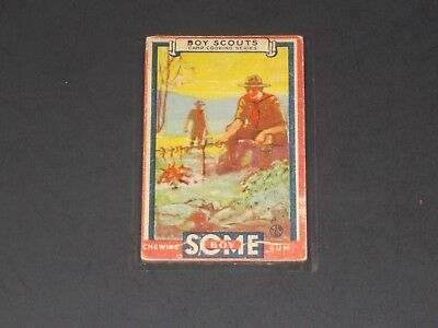1933 R142 Goudey Some Boy (Boy Scouts), #34, VERY NICE CARD!!!