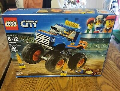 Monster Truck - City - Building Set by Lego (60180)