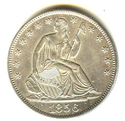 1856 O Seated Liberty Half Dollar MS In Grade Excellent Strike New Orleans Mint