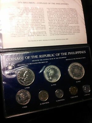 1976 Philippines Brilliant Uncirculated Specimen Set