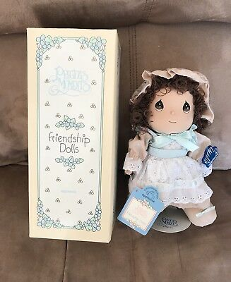 Precious Moments Applause Friendship Dolls Heidi, 1993, NEW In Box With Stand