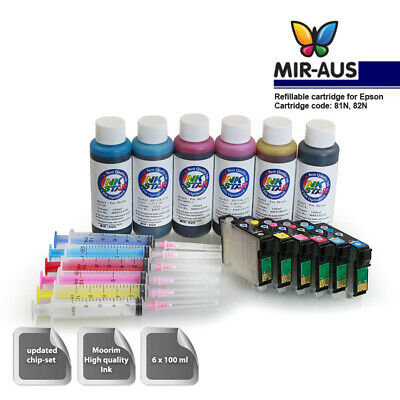 A+B Refillable cartridges for Artisan 835 cartridge 82 82N with sublimation ink