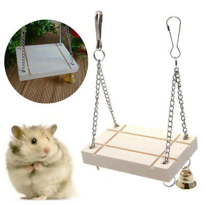 Rat Mouse Pet Toy Bird Hanging Swing Hamster High Quality Accessories Newest
