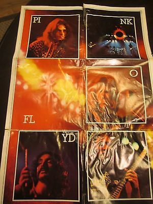 Vintage Pink Floyd Dark Side Of The Moon Poster From The Album