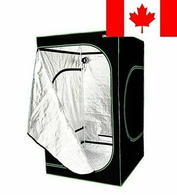 """Ohuhu 48""""x 48""""x 80"""" Growing Tent, Mylar Hydroponic Plant Grow Tent for Indoor..."""