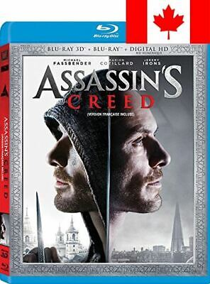Assassin's Creed (Bilingual) [3D Blu-ray + DVD + Digital Copy]