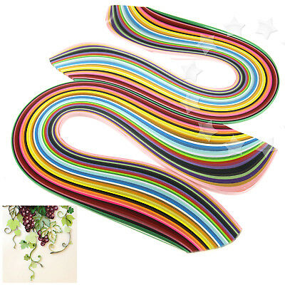 2 Sets of 3mm Quilling Paper Strips Assorted 36 Colours DIY Craft 360pcs