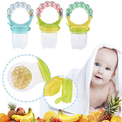 Nipple Fresh Food Milk Nibbler Feeder Feeding Tool Bell Safe Baby Supplies