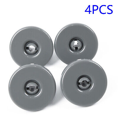 4pcs Dishwasher Lower Basket Wheel Replace For AEG Favorit/Zanussi/Privileg & 4