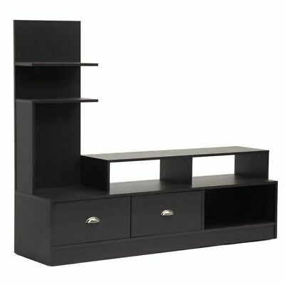 Tv Stand Entertainment Center Console Media Storage Cabinet