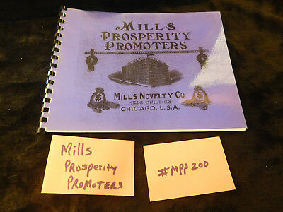 MILLS PROSPERITY PROMOTERS MINT 40 Pages ANTIQUE SLOT MACHINE BOOKLET #MPP200