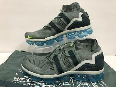 sports shoes 38fde eb7f1 Nike Air Vapormax FK Flyknit Utility Clay Green Spruce Grey AH6834-300