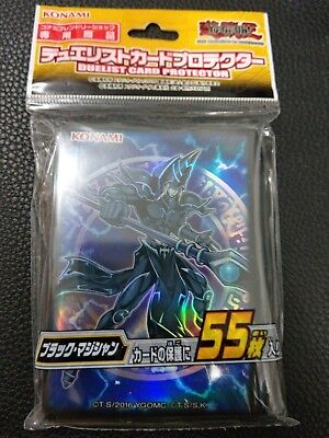 Yugioh Official Dark Magician Sleeves 55 Pack Sealed